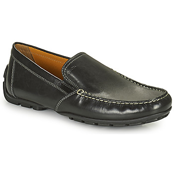 Sapatos Homem Mocassins Geox MONET Preto