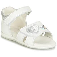 Sapatos Rapariga Sandálias Citrouille et Compagnie JAFALGA Branco