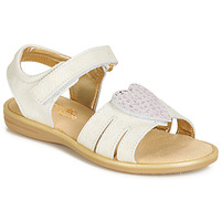 Sapatos Rapariga Sandálias Citrouille et Compagnie JAFILOUTE Branco