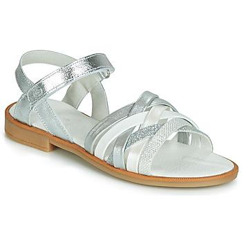 Sapatos Rapariga Sandálias Citrouille et Compagnie JARILOU Prata