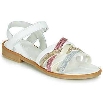 Sapatos Rapariga Sandálias Citrouille et Compagnie JARILOU Branco
