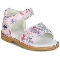 Sapatos Rapariga Sandálias Citrouille et Compagnie JARILOUTE Rosa