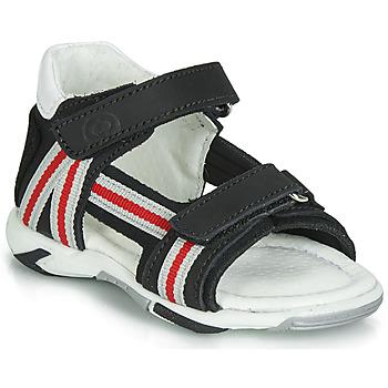 Sapatos Rapaz Sandálias Citrouille et Compagnie JATILETTE Preto