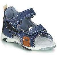 Sapatos Rapaz Sandálias Citrouille et Compagnie JATILEME Azul / Claro