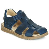 Sapatos Rapaz Sandálias Citrouille et Compagnie JALIDOU Azul / Escuro