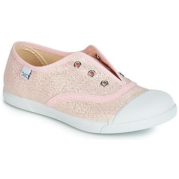 Sapatos Rapariga Sapatilhas Citrouille et Compagnie RIVIALELLE Rosa / Metalizado