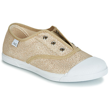 Sapatos Rapariga Sapatilhas Citrouille et Compagnie JANOLIRE Ouro