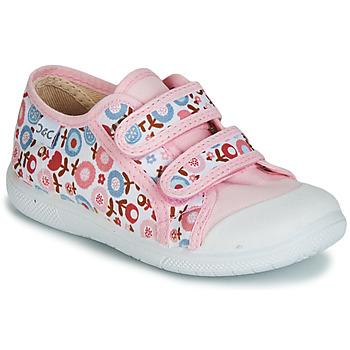 Sapatos Rapariga Sapatilhas Citrouille et Compagnie JORIPALE Rosa / Vermelho