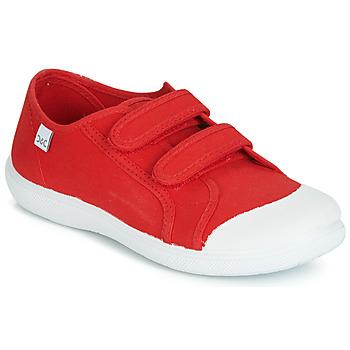 Sapatos Criança Sapatilhas Citrouille et Compagnie JODIPADE Vermelho