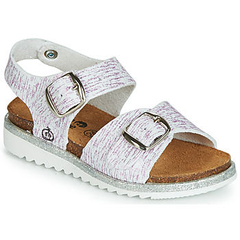 Sapatos Rapariga Sandálias Citrouille et Compagnie JANETTA Branco / Violeta