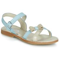 Sapatos Rapariga Sandálias Citrouille et Compagnie JISCOTTE Azul / Claro
