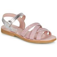 Sapatos Rapariga Sandálias Citrouille et Compagnie JARDINA Rosa