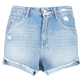 Textil Mulher Shorts / Bermudas Replay PABLE Azul