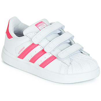 Sapatos Rapariga Sapatilhas adidas Originals SUPERSTAR CF I Rosa