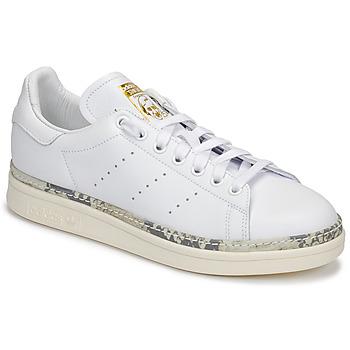 Sapatos Mulher Sapatilhas adidas Originals STAN SMITH NEW BOLD Branco