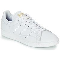 Sapatos Mulher Sapatilhas adidas Originals STAN SMITH W Branco