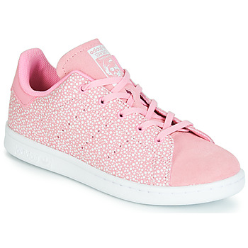 Sapatos Rapariga Sapatilhas adidas Originals STAN SMITH C Rosa
