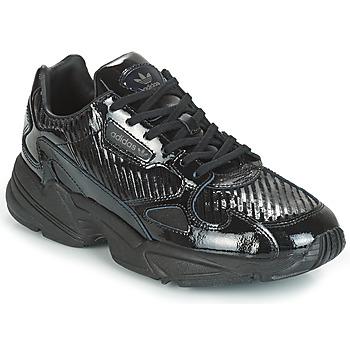 Sapatos Mulher Sapatilhas adidas Originals FALCON W Preto / Glitter