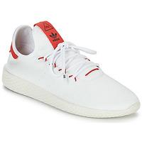 Sapatos Sapatilhas adidas Originals PW TENNIS HU Branco / Vermelho