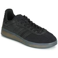 Sapatos Homem Sapatilhas adidas Originals SAMBA RM Preto