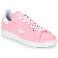 Sapatos Rapariga Sapatilhas adidas Originals STAN SMITH J Rosa