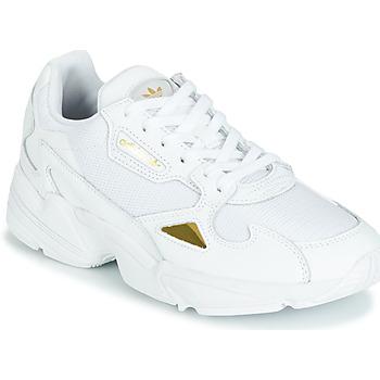 Sapatos Mulher Sapatilhas adidas Originals FALCON W Branco / Ouro