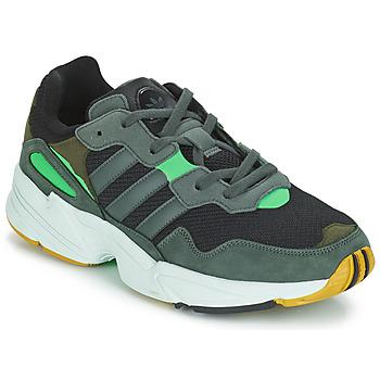 Sapatos Homem Sapatilhas adidas Originals YUNG 96 Cinza / Verde