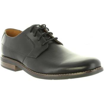 Sapatos Homem Richelieu Clarks 26123148 BECKEN Negro