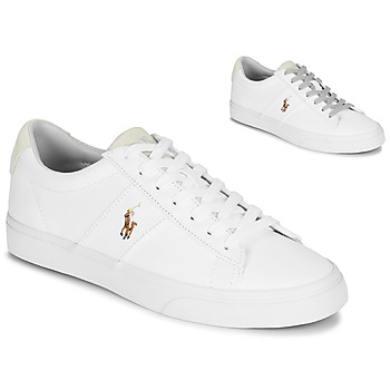 Sapatos Homem Sapatilhas Polo Ralph Lauren SAYER Branco