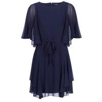 Textil Mulher Vestidos curtos Lauren Ralph Lauren NAVY-3/4 SLEEVE-DAY DRESS Marinho