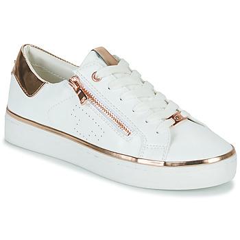 Sapatos Mulher Sapatilhas Tom Tailor 6992603-WHITE Branco