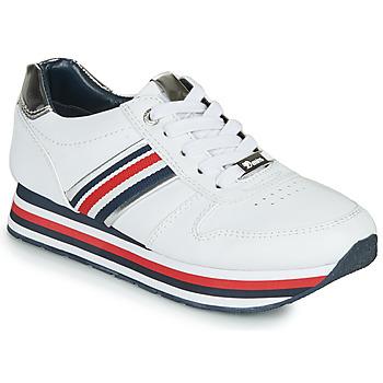 Sapatos Mulher Sapatilhas Tom Tailor 6995501-WHITE Branco
