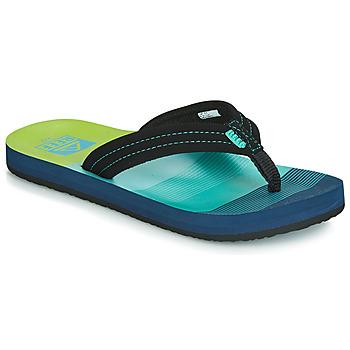Sapatos Rapaz Chinelos Reef KIDS AHI Azul / Verde
