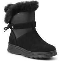 Sapatos Mulher Botas baixas Geox D Hosmos D84AUC-0222N-C0005 black