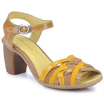 Sapatos Mulher Sandálias Pataugas FANNY Amarelo