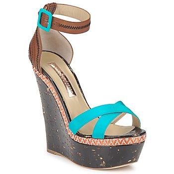 Sapatos Mulher Sandálias Rupert Sanderson NISSA Azul