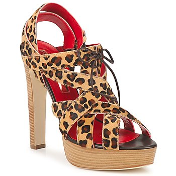 Sapatos Mulher Sandálias Rupert Sanderson BRISE Leopardo