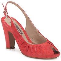 Sapatos Mulher Sandálias Janet&Janet PEONIA PLISA Vermelho