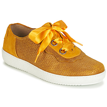 Sapatos Mulher Sapatilhas Casta HUMANA Amarelo / Ouro