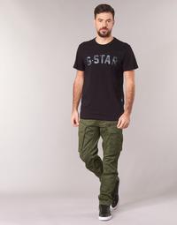 Textil Homem Calça com bolsos G-Star Raw ROVIC ZIP 3D STRAIGHT TAPERED Cáqui