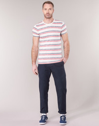 Textil Homem Chinos G-Star Raw BRONSON STRAIGHT TAPERED CHINO Marinho
