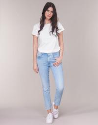 Textil Mulher Calças Jeans G-Star Raw RADAR MID BOYFRIEND TAPERED Azul