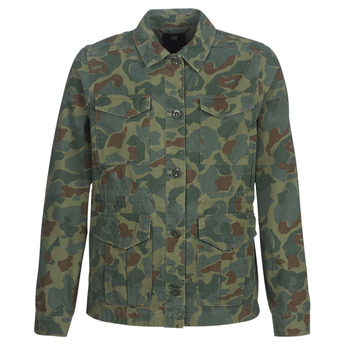 Textil Mulher Jaquetas G-Star Raw ROVIC AO FIELD OVERSHIRT Verde
