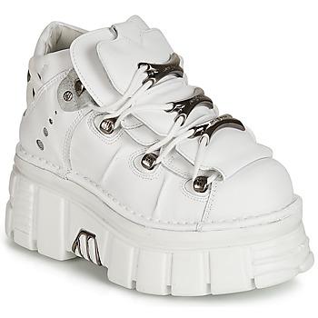 Sapatos Mulher Botas baixas New Rock ROCKY Branco