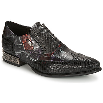 Sapatos Homem Sapatos New Rock SALSO Preto