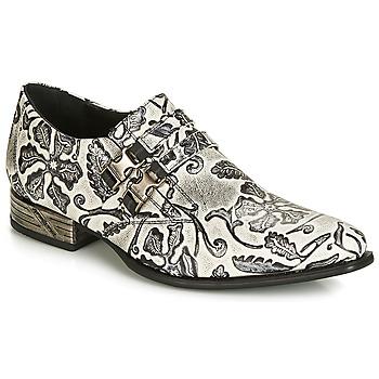 Sapatos Homem Richelieu New Rock SALSO Preto / Branco