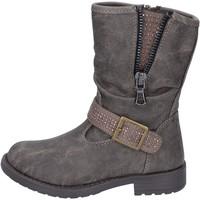 Sapatos Rapariga Botins Manairons Botins BT347 Cinza