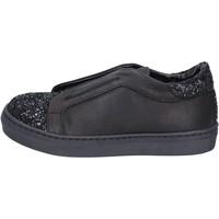 Sapatos Rapariga Slip on Holalà Sneakers BT357 Preto