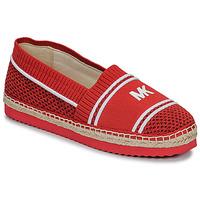 Sapatos Mulher Alpargatas MICHAEL Michael Kors RAYA Vermelho 83f1de4225