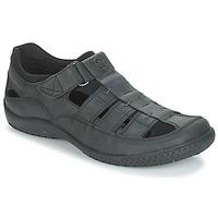 Sapatos Homem Sandálias Panama Jack MERIDIAN Preto